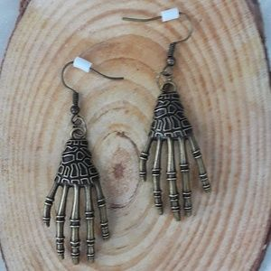 Haunting Hands - Halloween dangle earrings